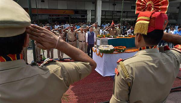 Martyr Prem Sagar's wreath-laying ceremony