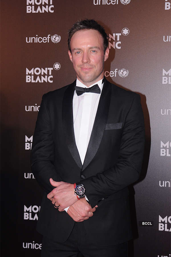 Celebs at Montblanc UNICEF Event