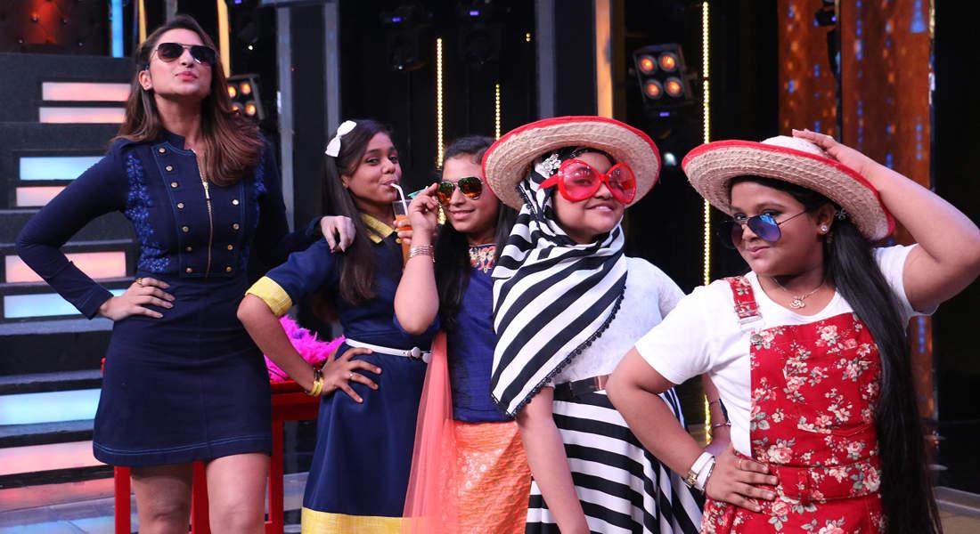 Sa Re Ga Ma Pa L'il Champs 2017: On the sets