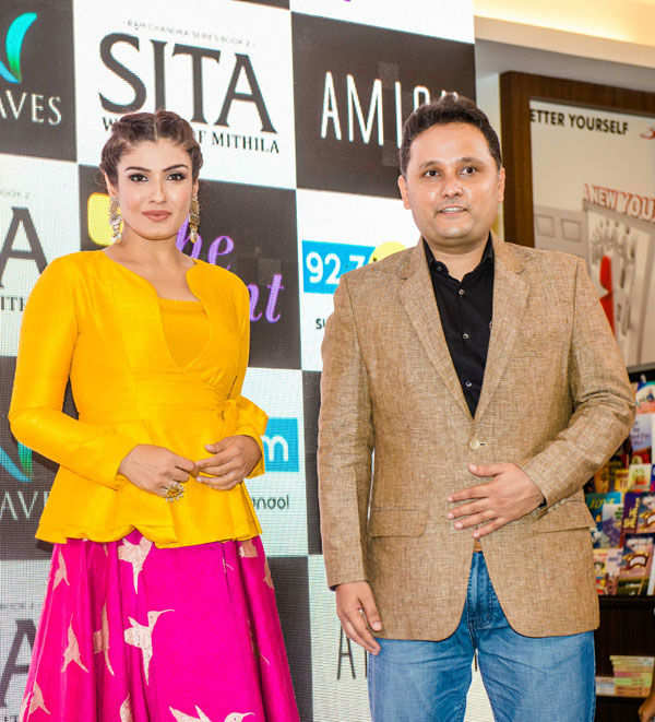 Amish Tripathi's book Sita launch