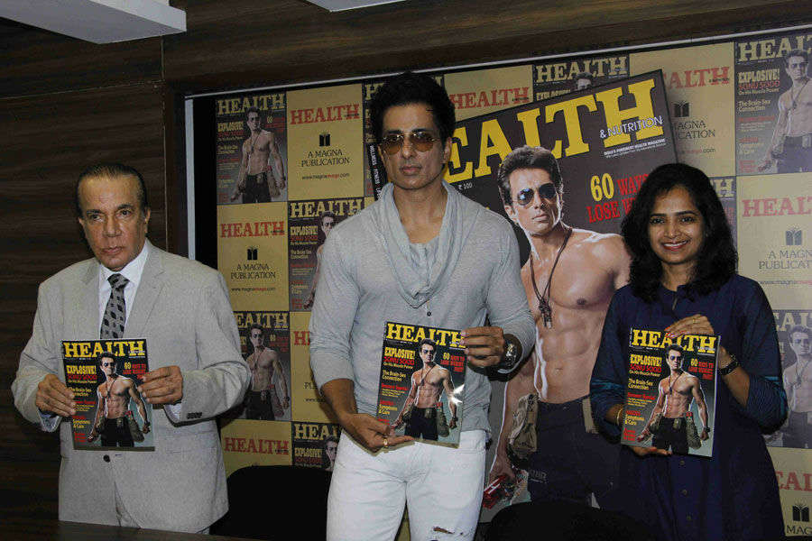 Sonu Sood at Magazine Launch