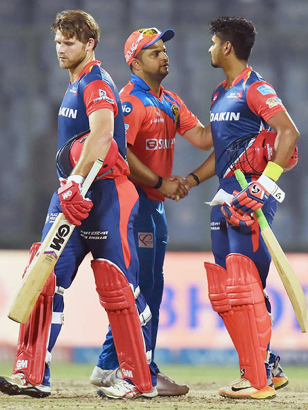 In pics: DD vs GL IPL match highlights