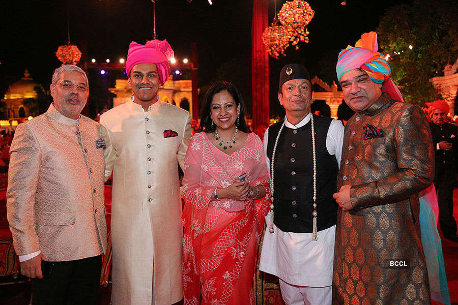Varun Chaudhary & Anushree Tongya's wedding