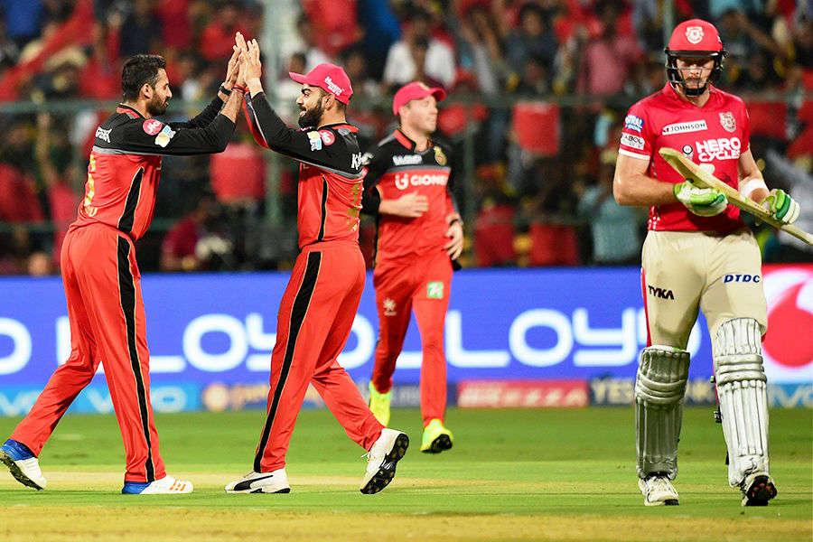 In pics: KXIP vs RCB IPL match highlights