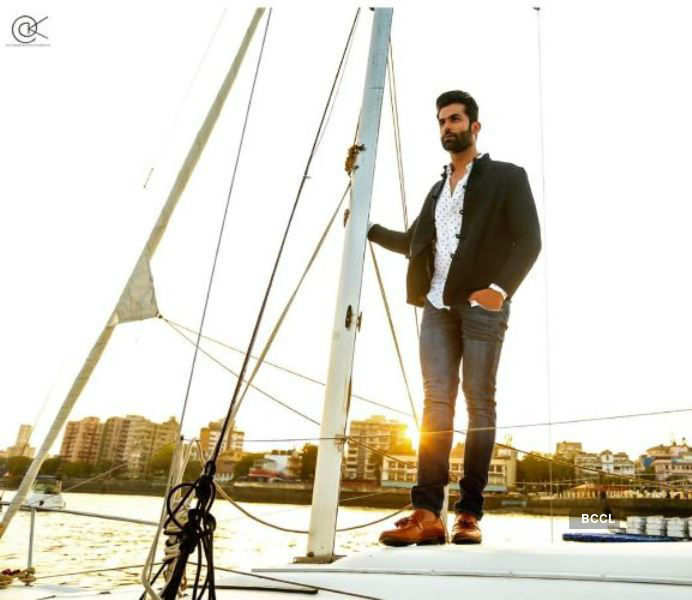 You can't miss Jitesh Thakur's latest photoshoot on a yacht