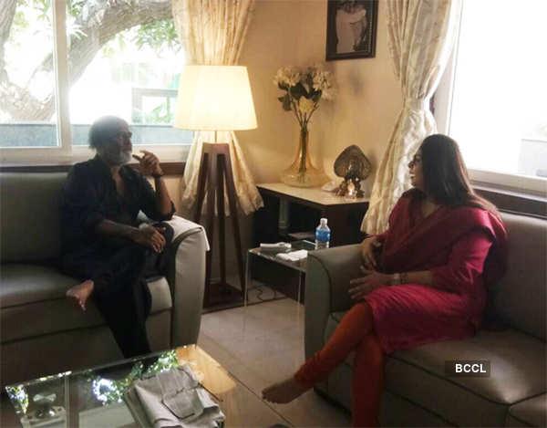 Nagma in conversation with Rajini