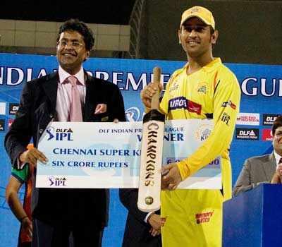Chennai win IPL 3