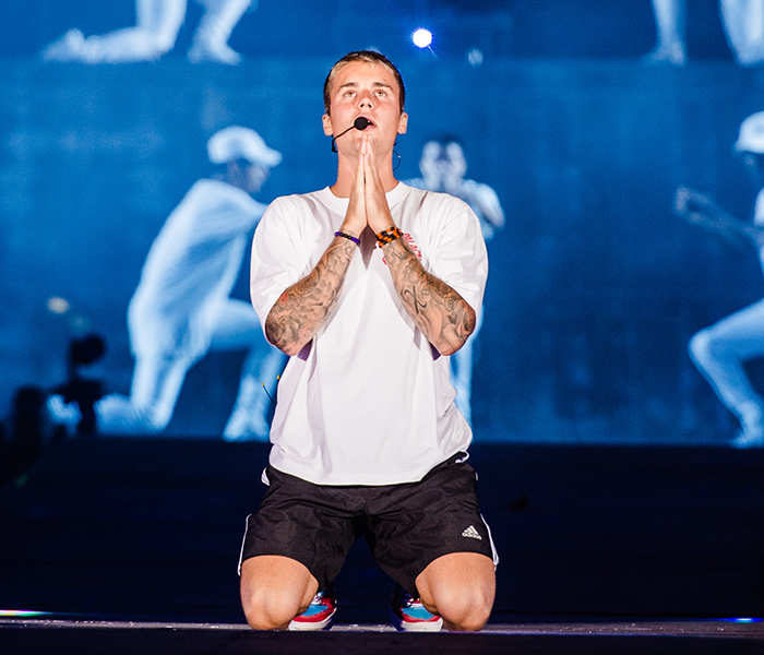Justin Bieber's Purpose World Tour concert
