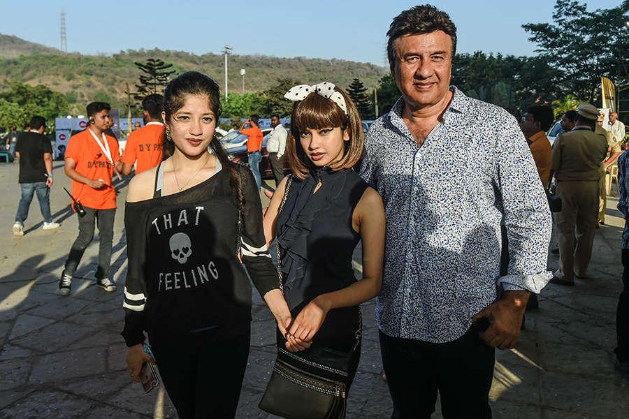 Star kids at Bieber's concert
