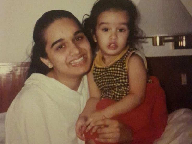 Mother's Day Special: Shraddha Kapoor's throwback picture with her ...