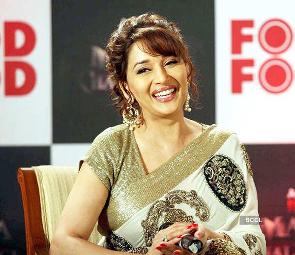 Madhuri Dixit smiles