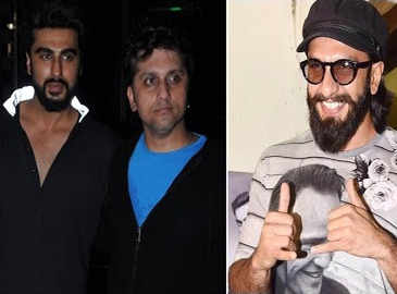 Ranveer, Arjun and Mohit Suri attend special screening of 'Half Girlfriend'