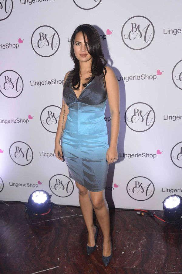 Celebs at Lingerie Shop Launch