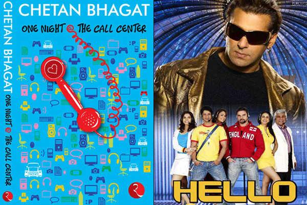 'Hello' is based on a Chetan Bhagat novel
