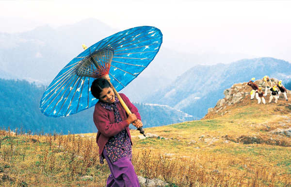 'The Blue Umbrella' is based on the novel