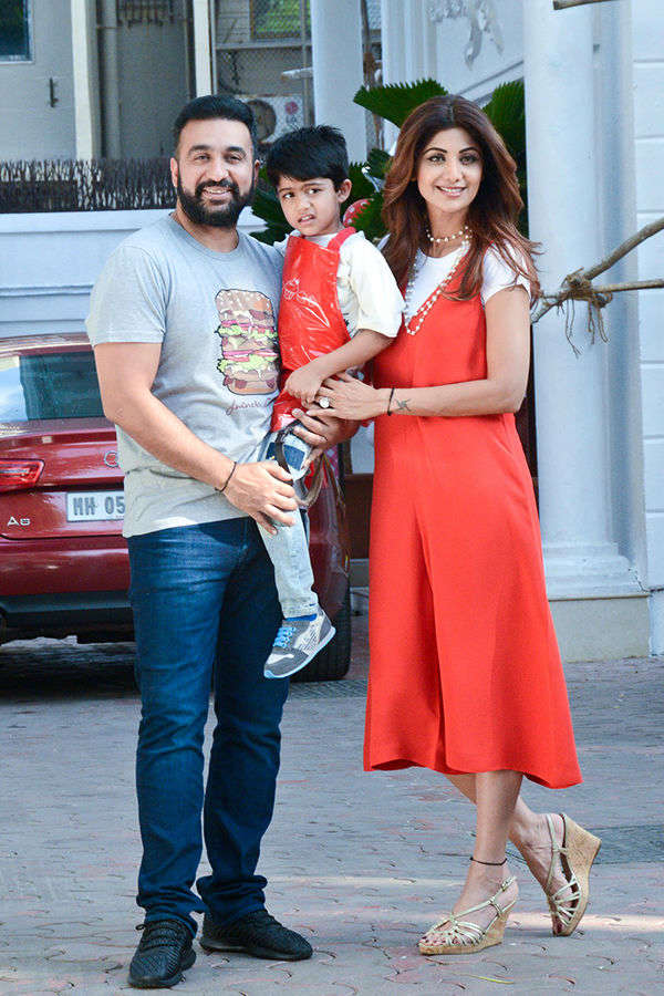 Shilpa and Raj celebrate son Viaan's birthday
