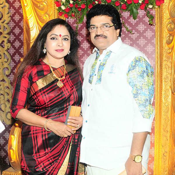 Madhuvanti Narayan and Vishnu Vijay's wedding