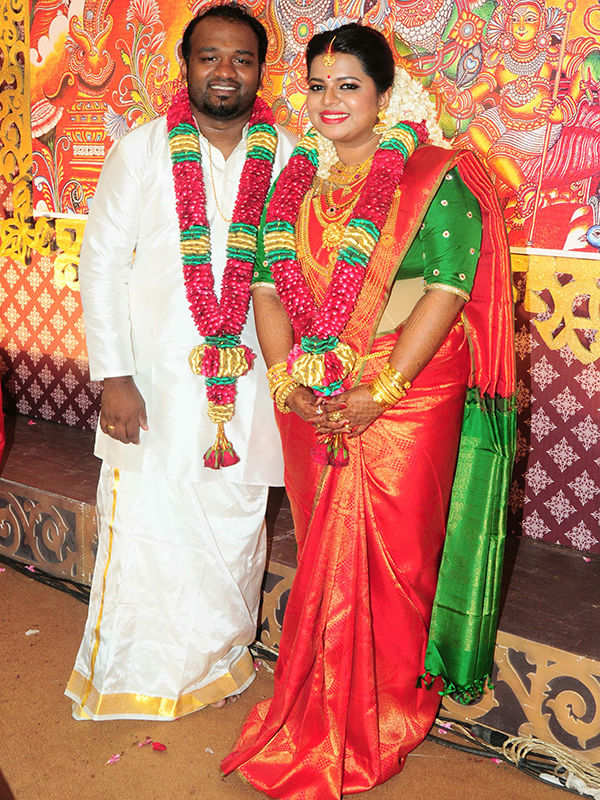 Madhuvanti Narayan and Vishnu Vijay's wedding