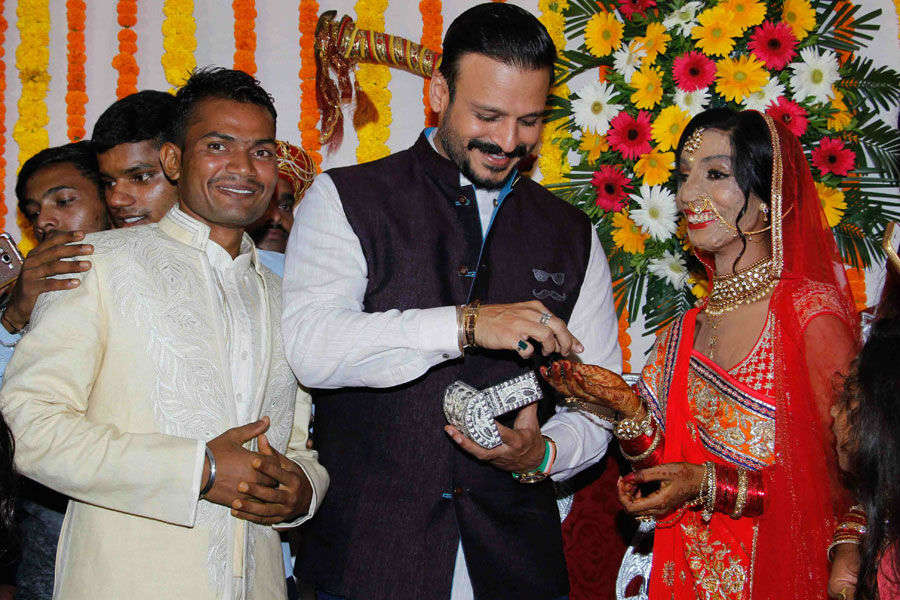 Vivek Oberoi attends acid attack survivor's wedding