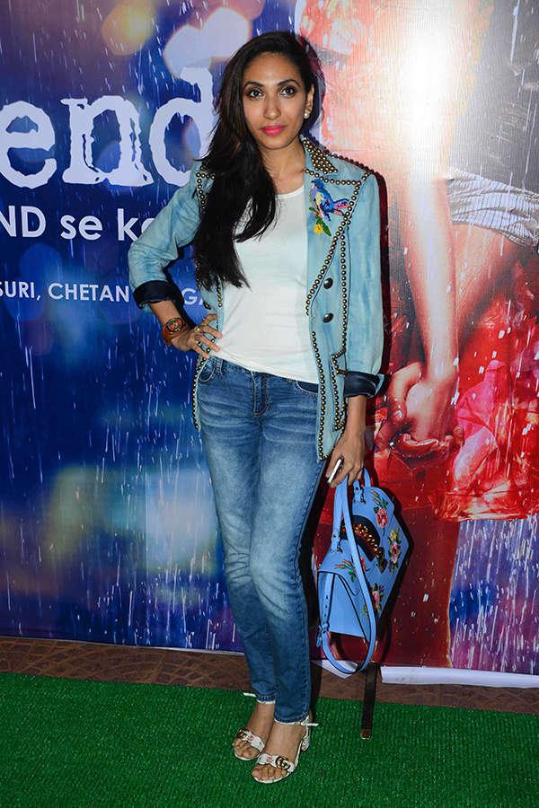 Prerna Arora at Half Girlfriend success party