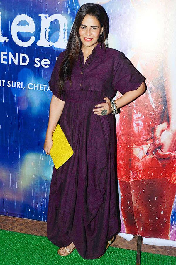 Mona Singh at Half Girlfriend's success party