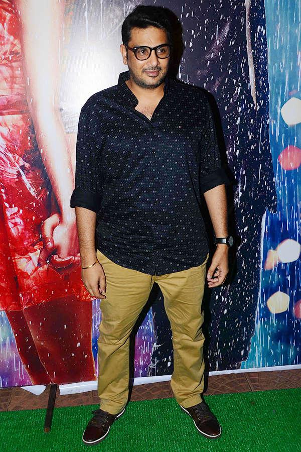 Mukesh Chhabra at Half Girlfriend success party