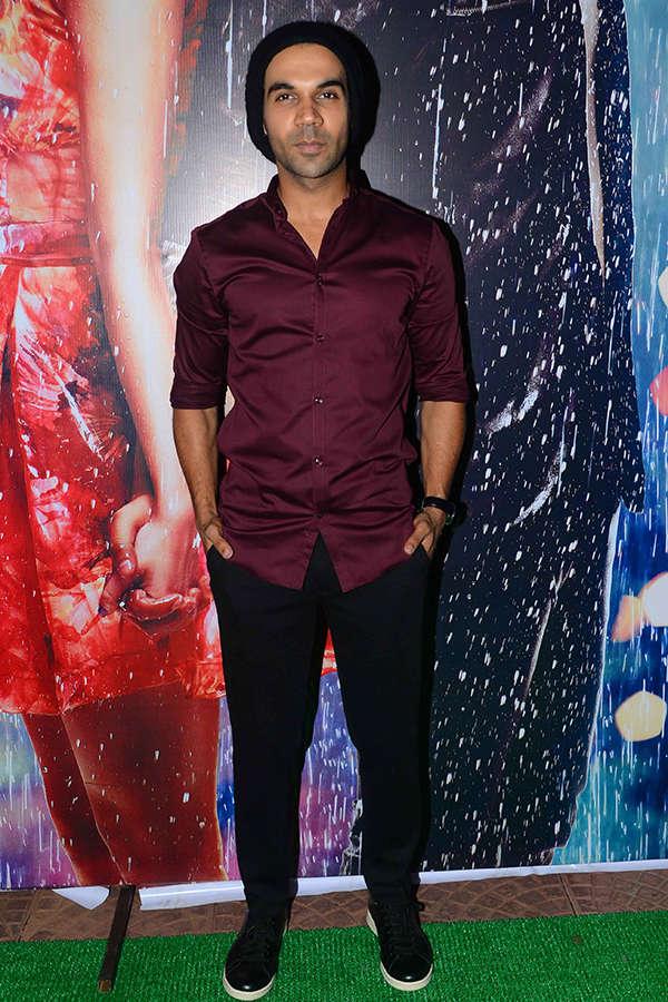 Rajkummar Rao attends Half Girlfriend success party