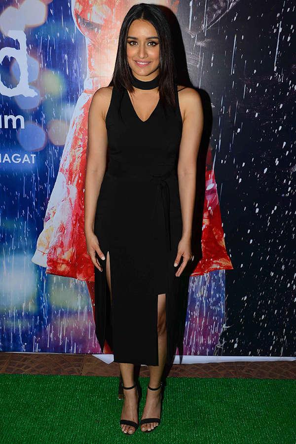 Shraddha Kapoor attends Half Girlfriend success party