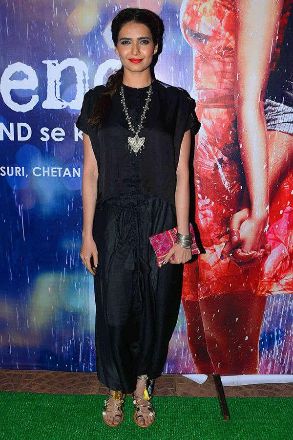 Karishma Tanna at Half Girlfriend's success party