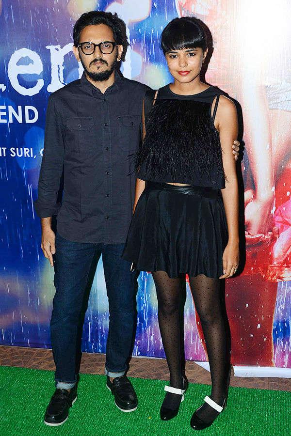 Vishesh Bhatt at Half Girlfriend success party