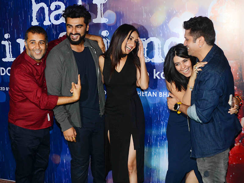 'Half Girlfriend' cast at success party