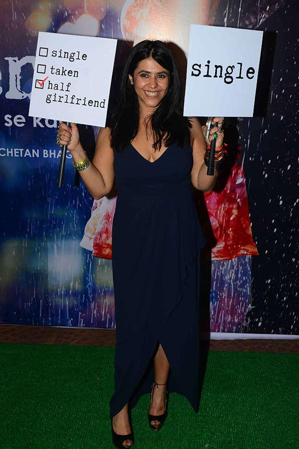 Ekta Kapoor poses for the cameras