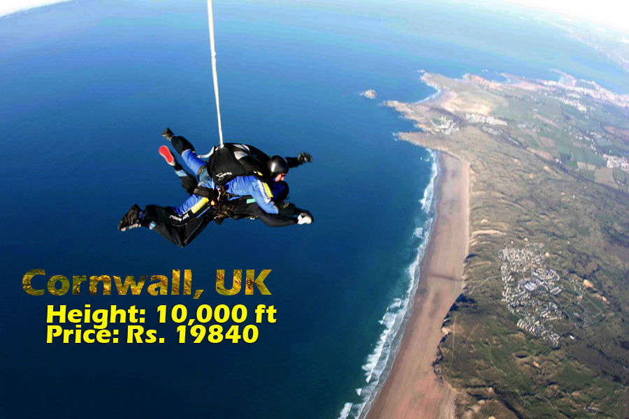 The 25 most insane skydives