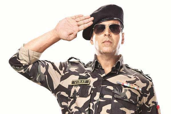 Akshay Kumar in army uniform