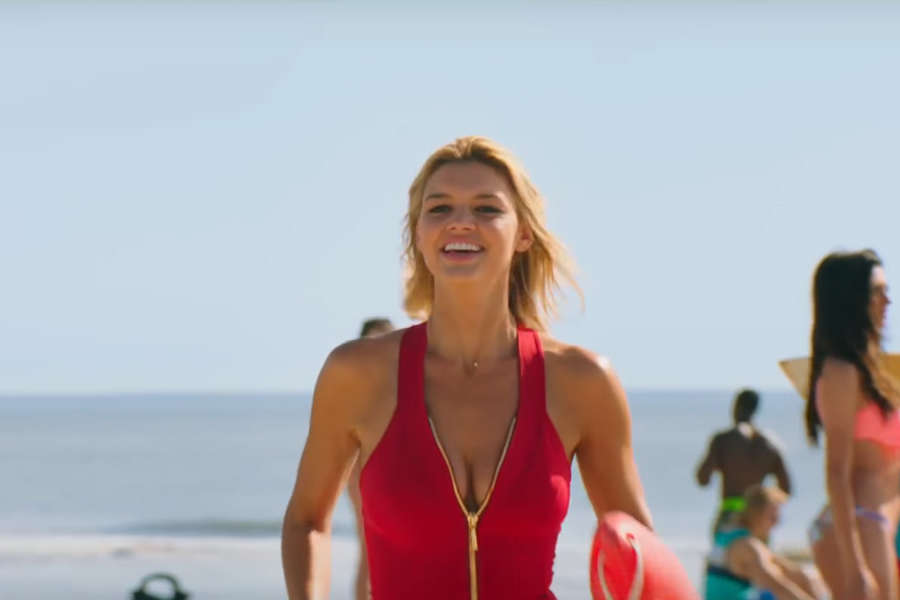 Kelly in Baywatch