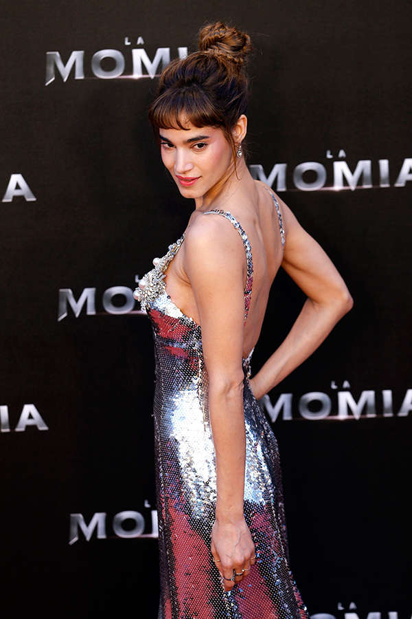 Sofia Boutella at The Mummy Spanish Premiere