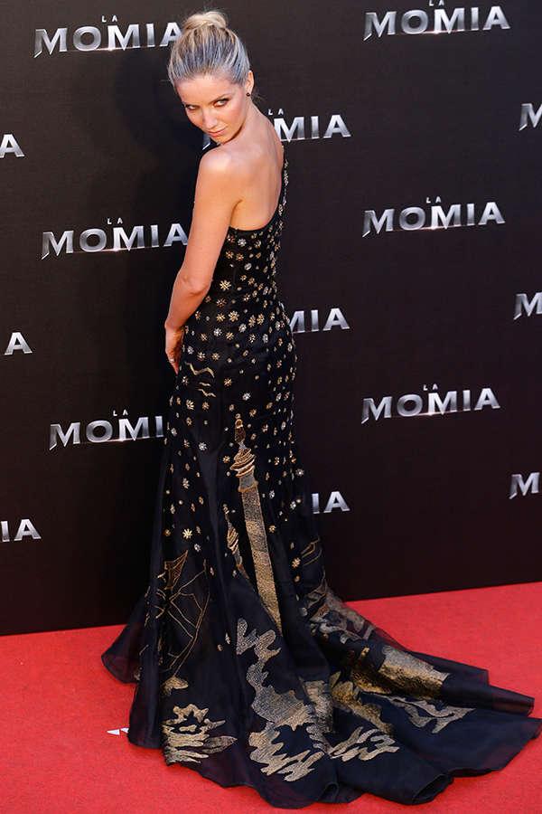 Annabelle Wallis at The Mummy Spanish premiere