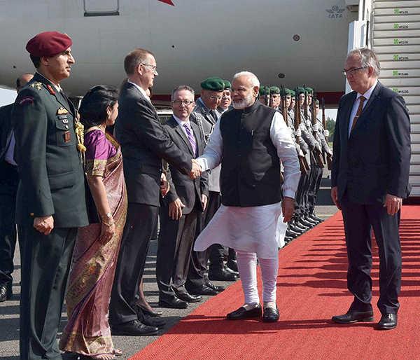 PM Modi meets Angela Merkel