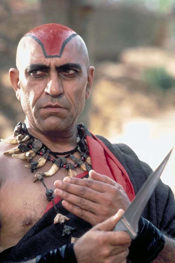 Amrish Puri in Indiana Jones and the Temple of Doom