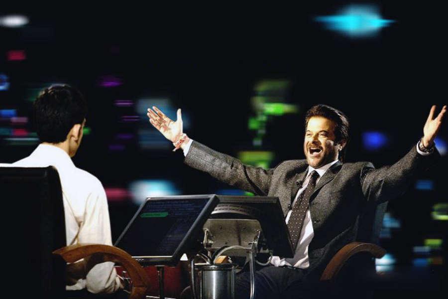 Anil Kapoor in Slumdog Millionaire