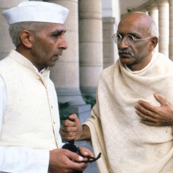 Roshan Seth and Ben Kingsley in Gandhi