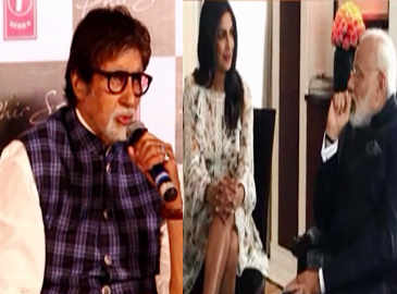 Big B declines to comment on Priyanka's short dress controversy