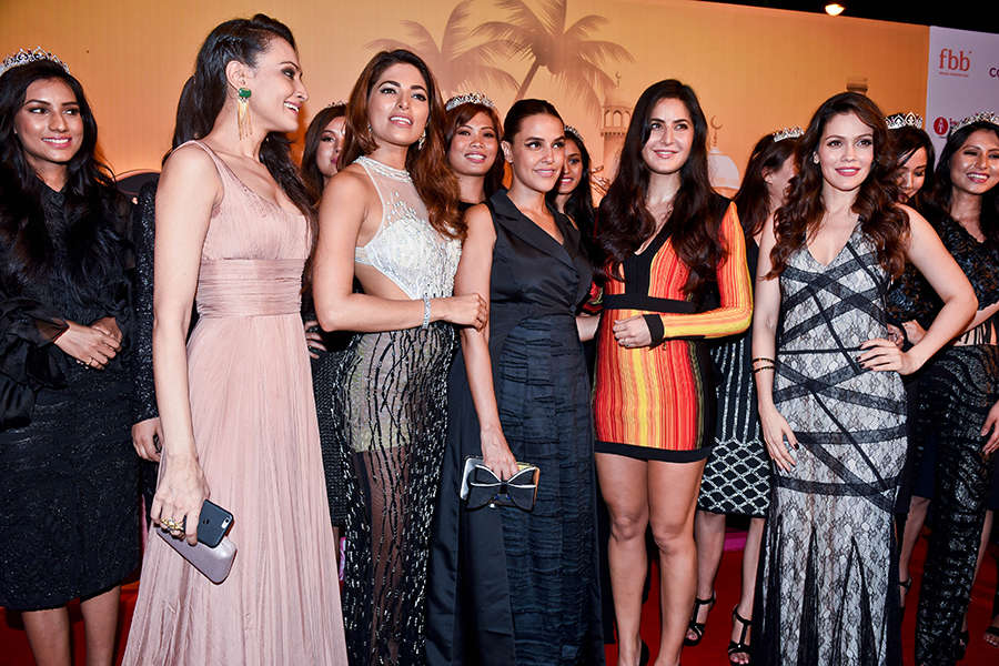 fbb Colors Femina Miss India 2017 finalists: Red Carpet