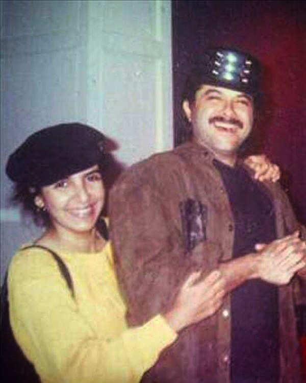 Rare photo of Anil Kapoor and Farah Khan