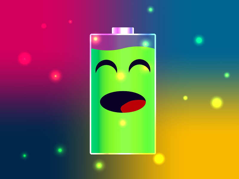 Try charging your smartphone's battery upto at least 80%