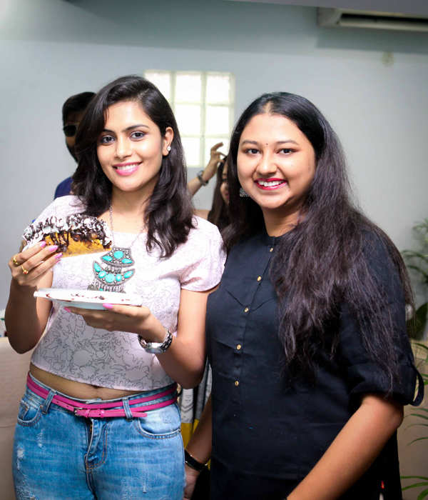 Sonu Gowda celebrates ice cream with a twist