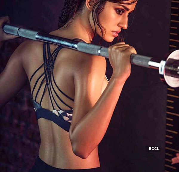 Disha Patani undergoes some serious weight training