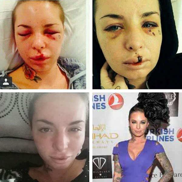 MMA fighter 'War Machine' jailed for brutally abusing his porn star ex-girlfriend