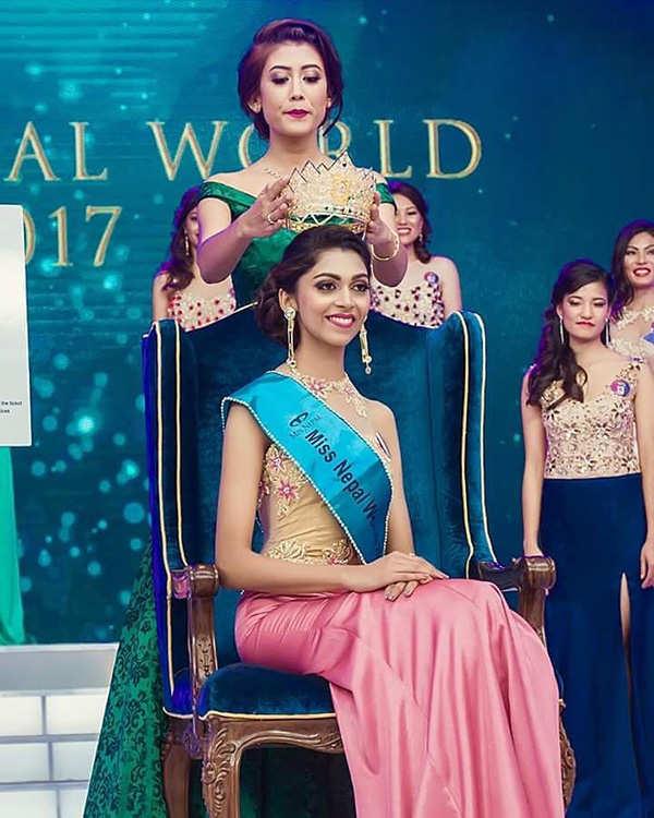 Nikita Chandak wins Miss World Nepal 2017 title