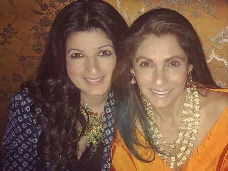 Twinkle Khanna Has The Perfect Birthday Message For Mum Dimple Kapadia